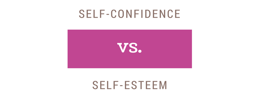 working on self confidence